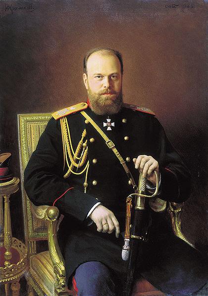 Alexander III (Ivan N. Kramskoy)