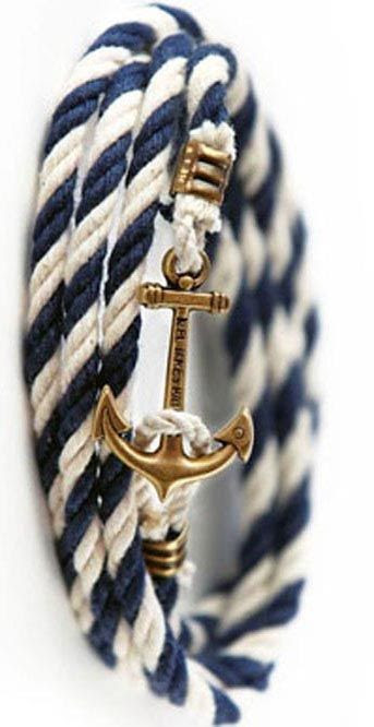Summer Anchor Bracelet