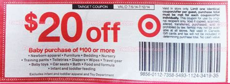 target deals    baby products coupon