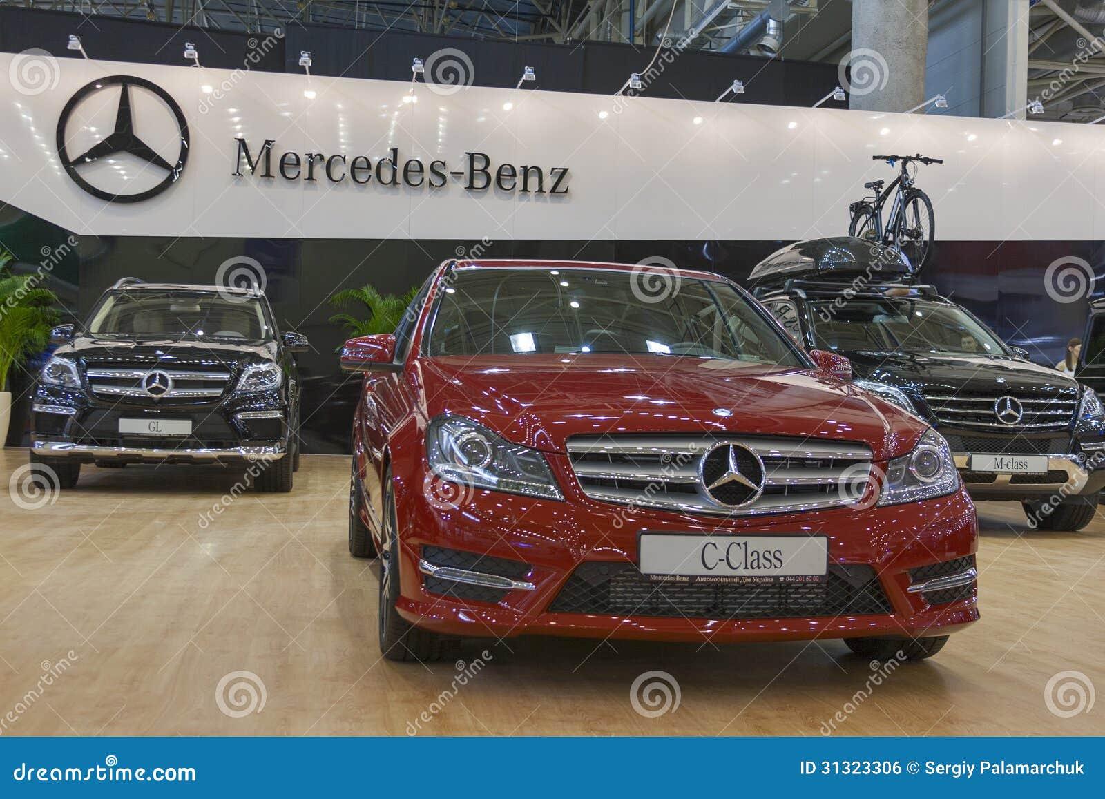 Mercedes-Benz Car Models On Display Editorial Photo ...