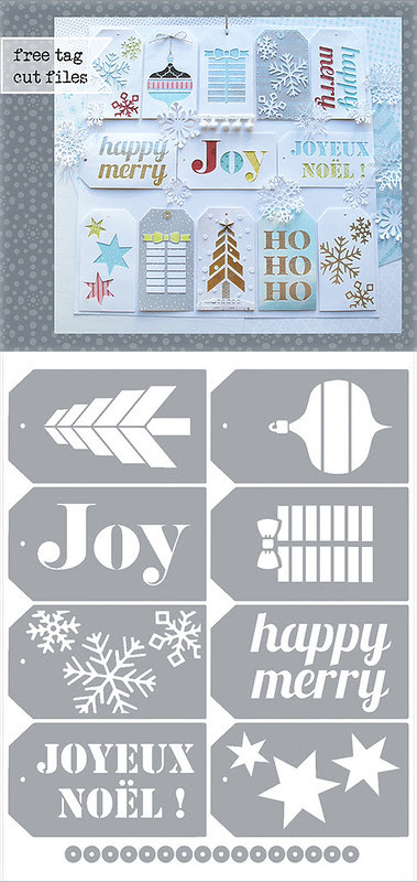 Christmas Tags - free Silhouette .studio & SVG cutting files - 570px
