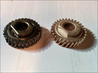 KitchenAid gear replacement