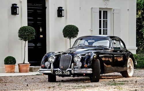 alifewellsuited:  1958 Jaguar XK150