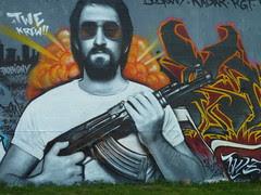 AK 47 , RAY BAN