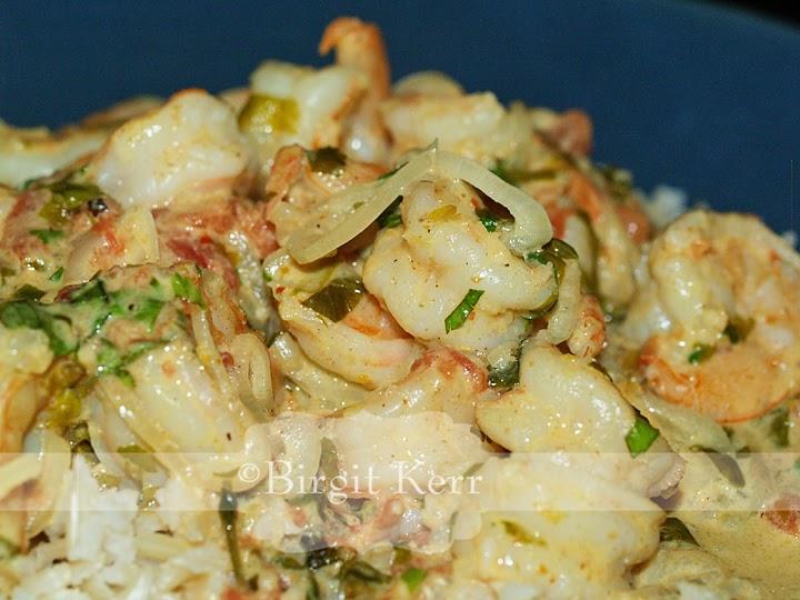 Birgit's Daily Bytes: Spicy Coconut Shrimp (DF, GF, GAPS)