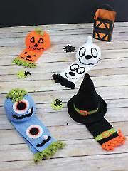 Halloween Hats & Scarves - Electronic Download