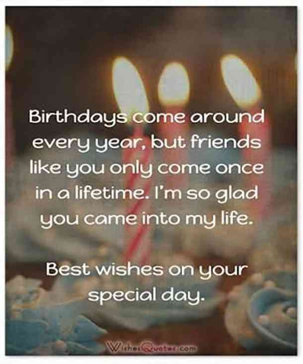 23 Best Friend Birthday Quotes For Loyal And True Best Friend