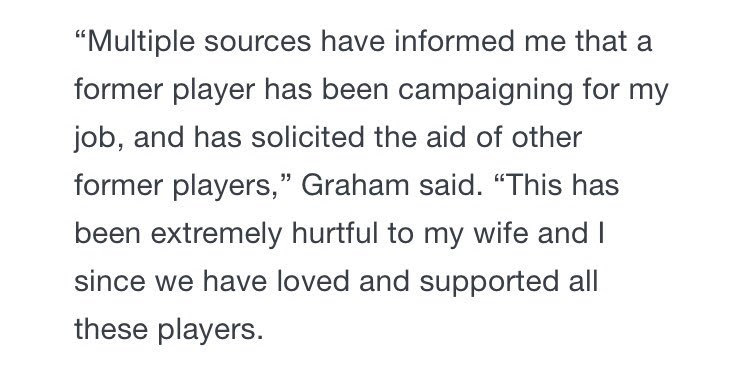 Rice End Of An Era At Rice This Quote From Wayne Graham To