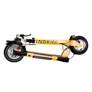 INOKIM-Quick2-electric-Scooter-Orange folded