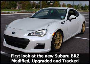 Subaru BRZ Modified and Raced