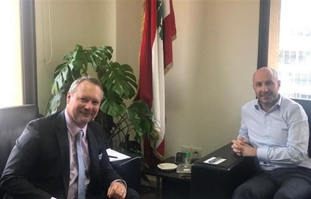 وزير البيئة التقى سفيري فرنسا والنمسا ووعد بمتابعة الوضع البيئي في الكورة