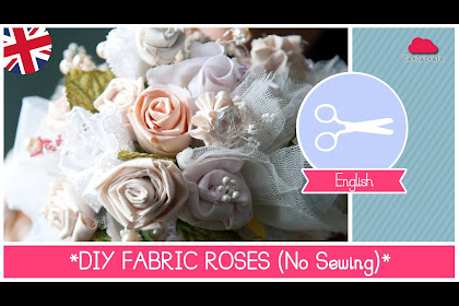 How To Make Fabric Flowers For Wedding Bouquet
