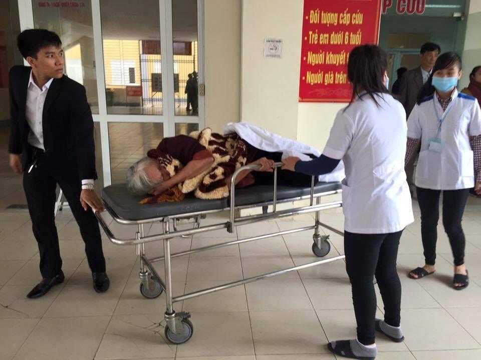 con dâu kiện, mẹ chồng, ngất xỉu, cấp cứu tại tòa, Hà Tĩnh