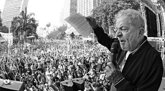 Ex-presidente Luis Inácio Lula da Silva durante evento em comemoração ao Dia do Trabalho em São Paulo (Foto: Ricardo Stuckert/Instituto Lula)