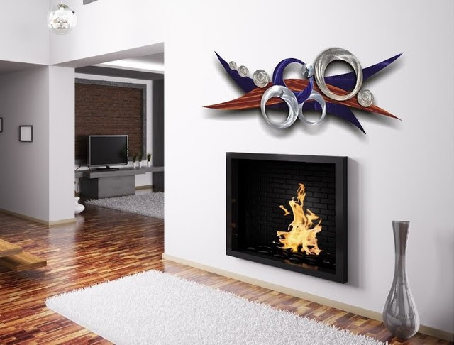 METAL WALL ART DESIGN - Modern - Living Room - brisbane ...