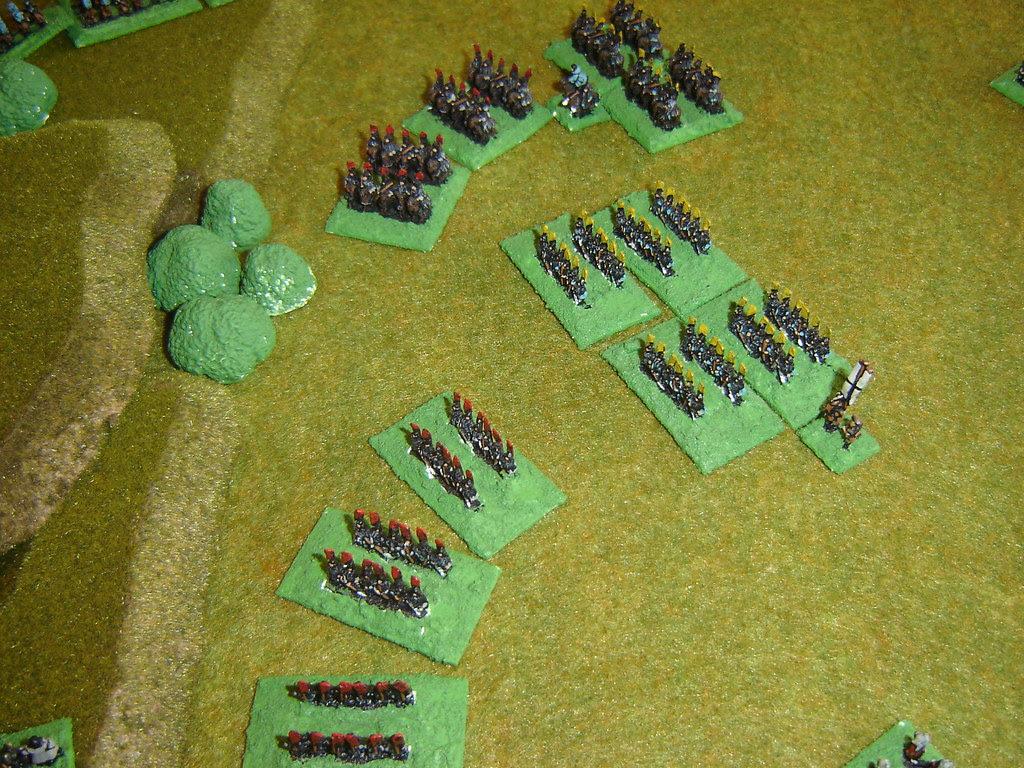 Two Mori<br />Samurai units rout