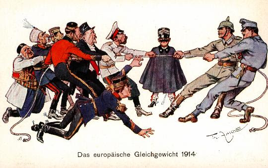 Equilibio Europeo 1914