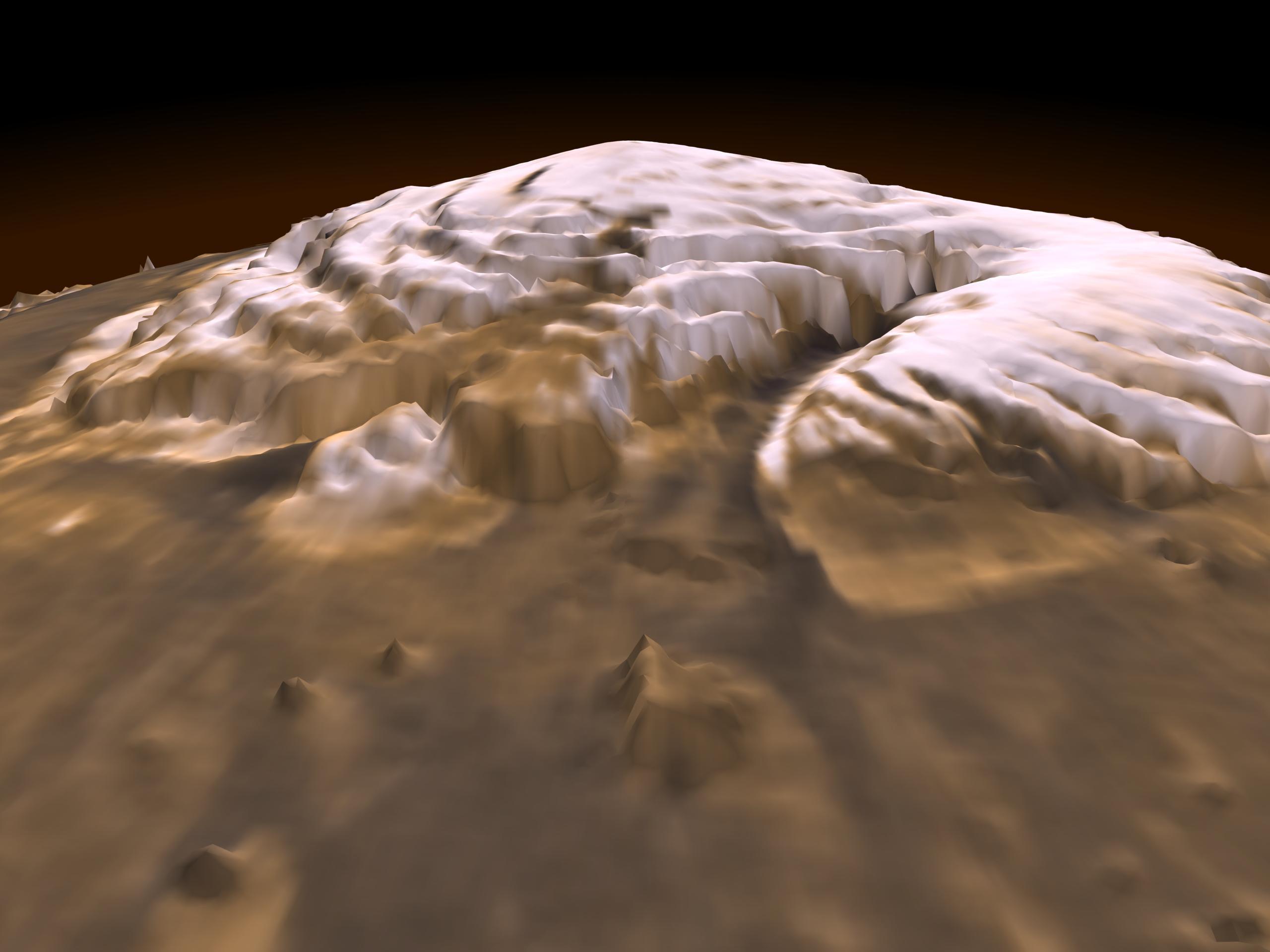 Marte en 3D