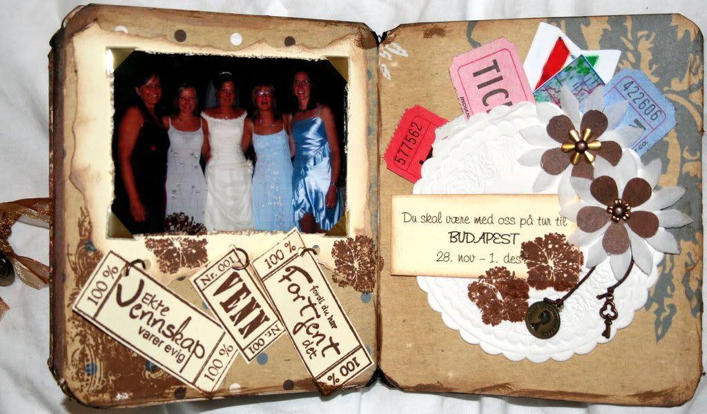 Alle de fem venninnene som gratulerer og inviterer på jentetur til BUDAPEST!! Snille de er da :)