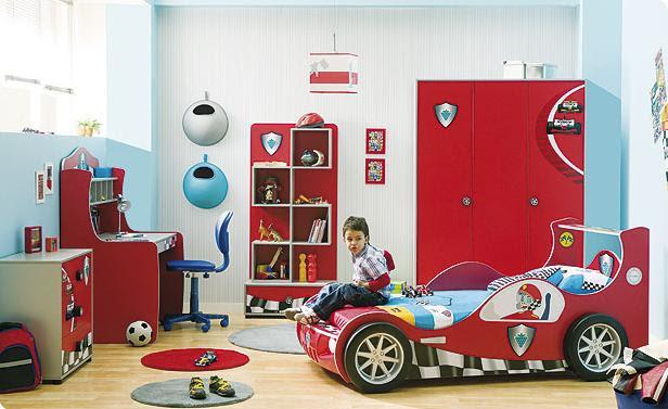 Contemporary Boys' room Decoration