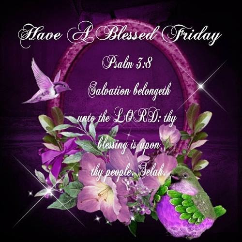 Friday Blessing Psalm 38 Ecard Kjv