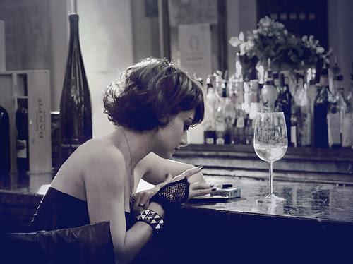 bar, bizzzi, girl, glass, night, wine