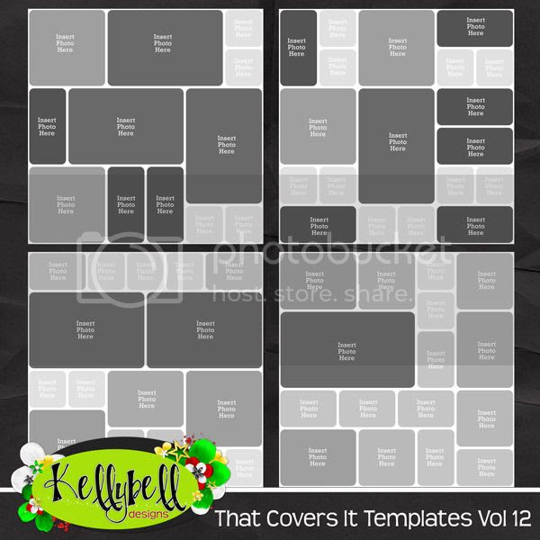 Kellybell Designs That Covers It Vol 12 Templates
