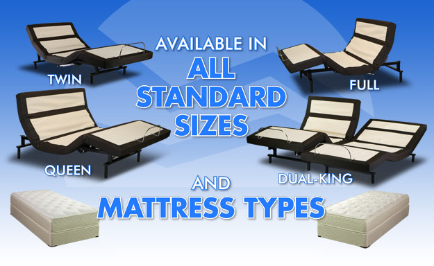 Craftmatic® Beds - New Pillow Rest Adjustable Beds - to 50 ...