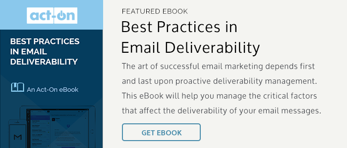 eBook: Best Practices in Email Deliverability