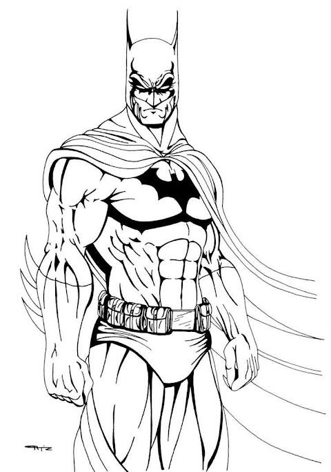 Malvorlagen Batman Joker