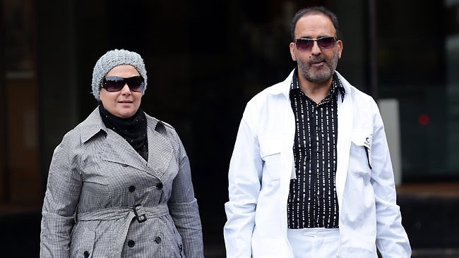 Man Haron Monis and Amirah Droudis