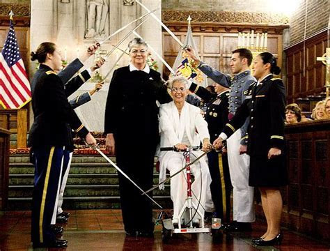 First same sex wedding held at West Point Cadet Chapel