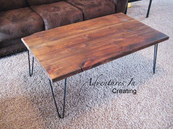Remodelaholic  Coffee and End Tables
