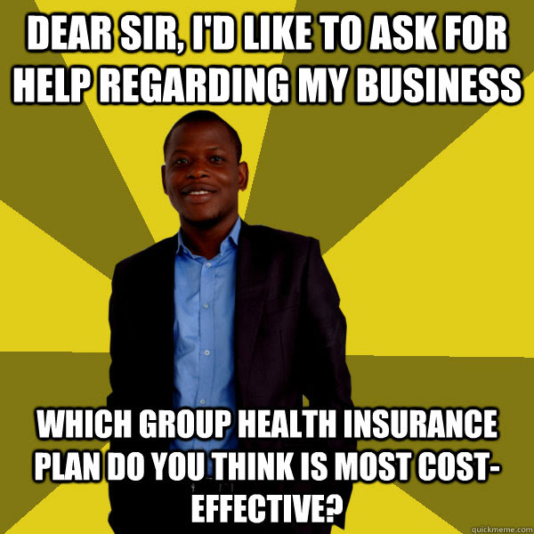 Dear Sir, I'd like to ask for help regarding my business ...