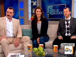 Tom Selleck, left, plays Police Commissioner Frank Reagan, Bridget Moynahan, plays assistant district attorney Erin Reagan, and Donnie Wahlberg is Detective Danny Reagan.