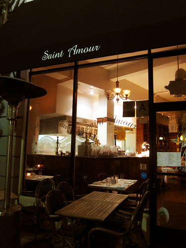 Media Dinner at Le Saint Amour