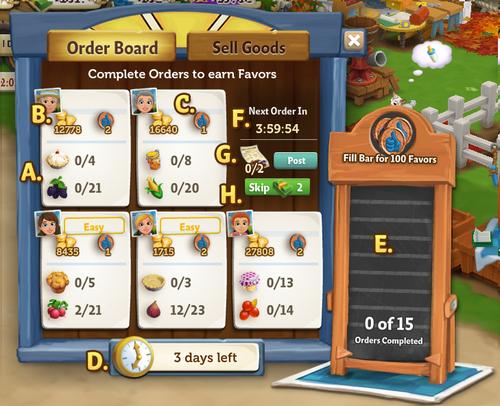 Order Menu