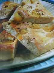 ricetta facile e veloce focaccia all'ananas con pistacchi