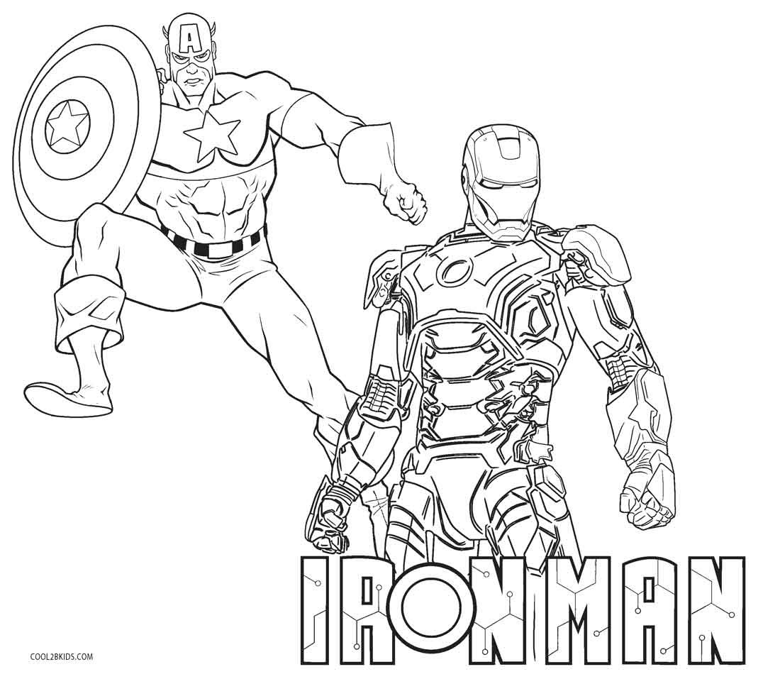 Iron Man Lego Avengers Coloring Pages   Total Update