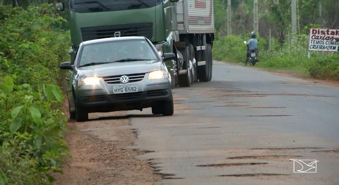 Decisão da Justiça obriga Governo do Maranhão a recuperar trecho da MA-034