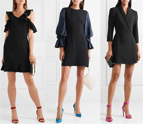 What Color Shoes to Wear with a Black Dress? ShoeTease