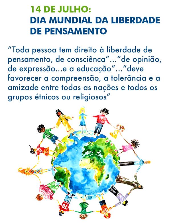 Dia Mundial da Liberdade de Pensamento Imagem 3