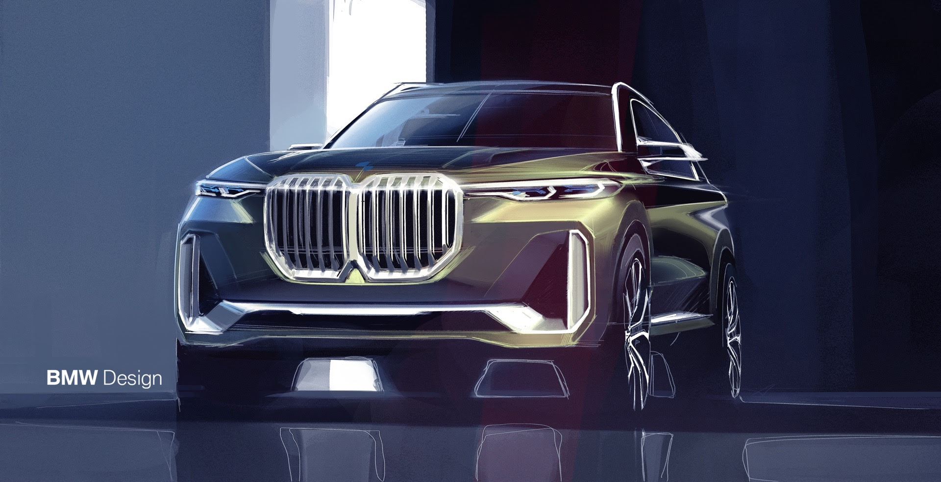 WORLD PREMIERE: BMW X7 Concept iPerformance