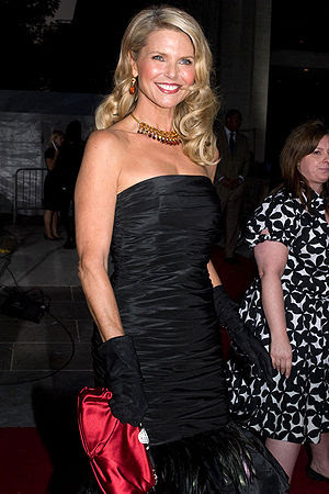 Christie Brinkley at the Metropolitan Opera op...