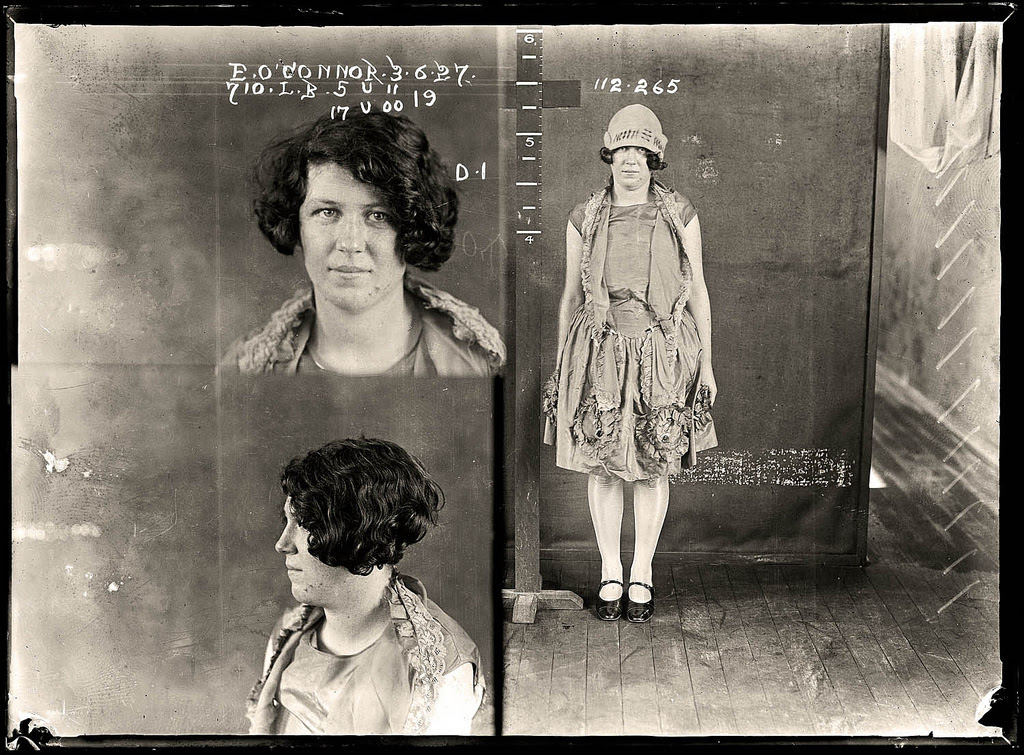 photo police sydney australie mugshot 1920 06 Portraits de criminels australiens dans les années 1920  photo photographie histoire featured art