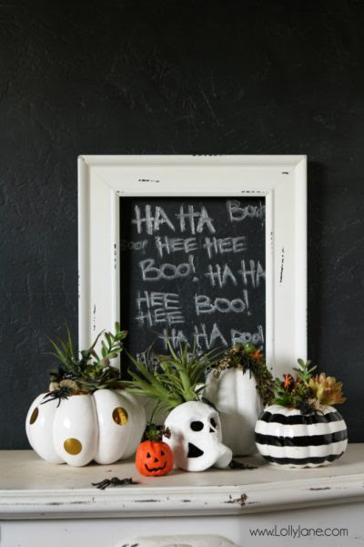 DIY-Halloween-Pumpkin-Succulent-Planters-Lolly Blog