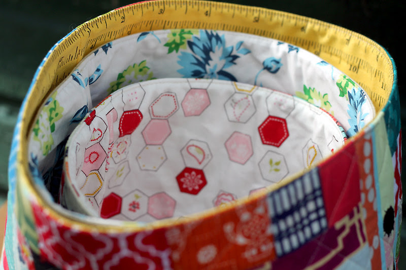 Nesting Bowls for Sewing Room Swap