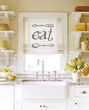 Kitchen Window Treatment Ideas & Inspiration {blinds, shades ...