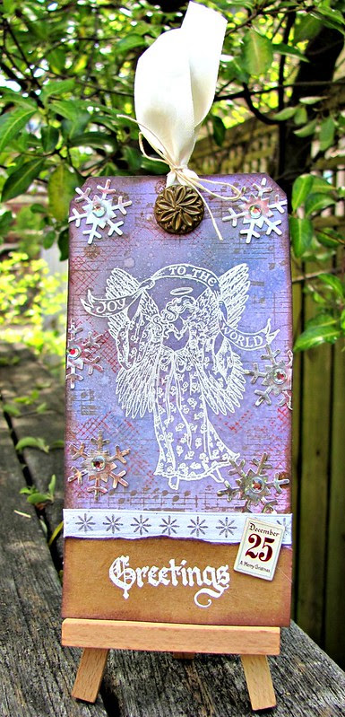 ABC ~ Angel, Button, Chipboard