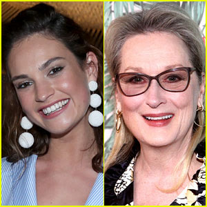 Lily James to Play Young Meryl Streep in 'Mamma Mia' Sequel!